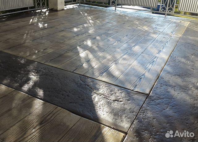 печатный бетон в москве и московской области