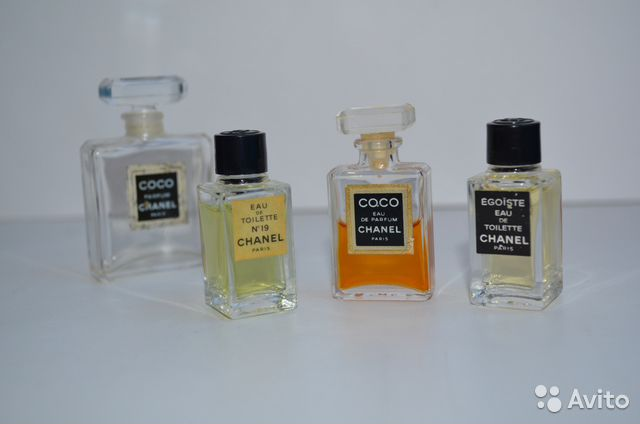 Миниатюры парфюмов духи винтаж