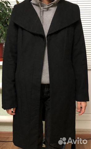 Пальто шерстяное global essentials (42-44) 89032636918 купить 1
