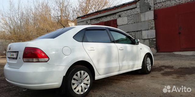 Volkswagen Polo 1.6МТ, 2011, 110000км
