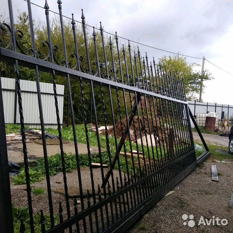 Откатные ворота 89992551502 купить 1