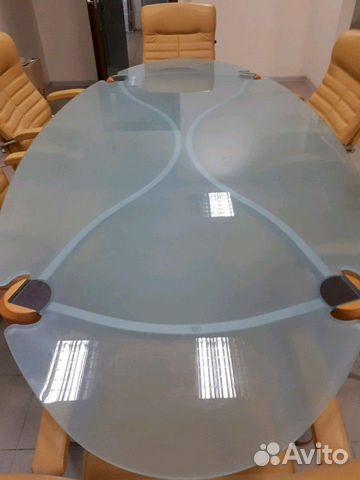 Итальянский переговорный стол с креслами 89038585678 купить 2