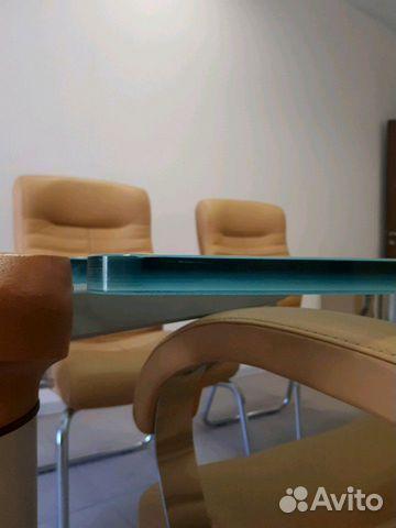 Итальянский переговорный стол с креслами 89038585678 купить 6