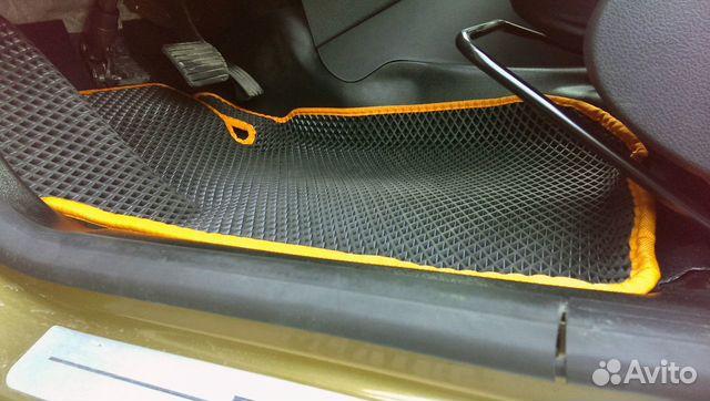 Коврики EVA Рено Сандеро степвей Renault Sandero S купить 3