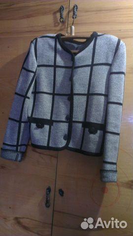 Пиджак трикотаж 89137898035 купить 1