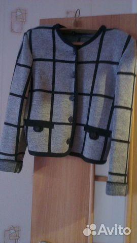 Пиджак трикотаж 89137898035 купить 2
