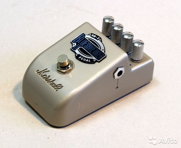Marshall BB-2 THE bluesbreaker II effect pedal 89226145077 купить 5