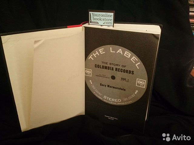 The Label The Story of Columbia Records книга англ