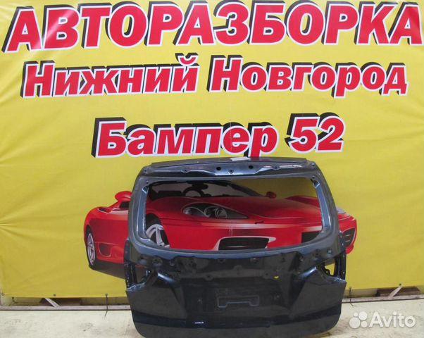 89524408730 Hyundai IX35 крышка багажника (серая)