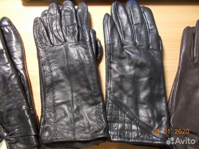 Перчатки кожаные  89052485517 купить 4