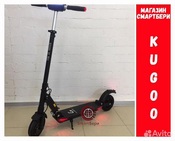 Электросамокат Kugoo S3 Pro Jilong Черный 89192823841 купить 1
