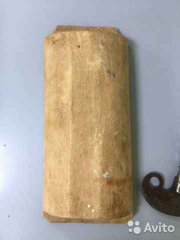Старинная сечка тяпка шинковка с корытом тяжелая  купить 5