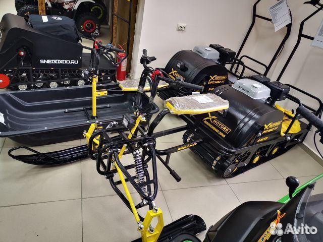 Мотобуксировщик 17л.с X-motors MAX
