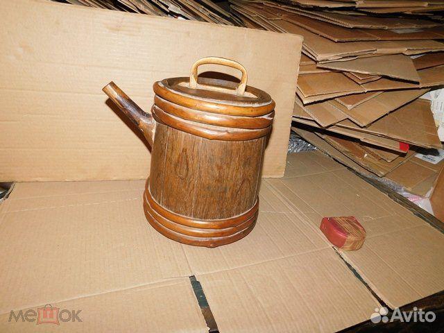 Старинный пивной-квасной дубовый бочонок 4-5 л  89065103360 купить 8