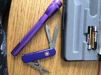 Фонарик и ножик.Mini Maglite