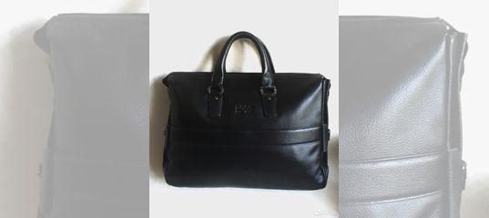d51439e27b66 Мужская кожаная сумка портфель Hugo Boss купить в Москве на Avito —  Объявления на сайте Авито