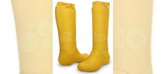 d41182aa12a6 Сапоги резиновые Crocs 35 - 41 р. желтые и др. цв