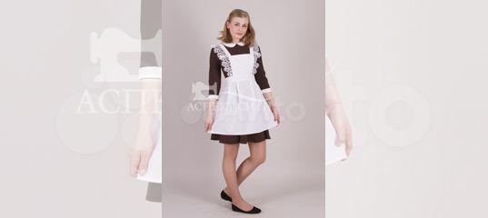 Платье с фартуком на последний звонок, 14-414к купить в Москве на Avito —  Объявления на сайте Авито c0ec3bf959c