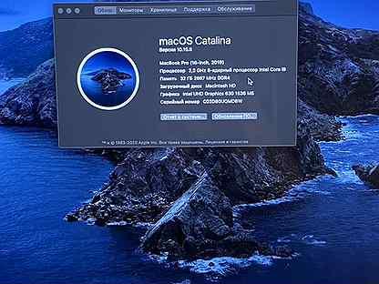 Топовый Macbook Pro 16' i9 1Tb 32Gb Touch Bar