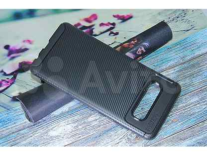 Чехол-накладка для Samsung G975F S10 Plus becation beetles carbon TPU antishock черный