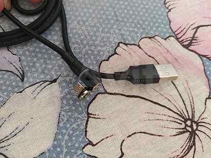 Магнитное зарядное устройство micro usb