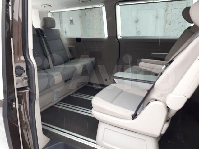 сиденья от мультивена в транспортер