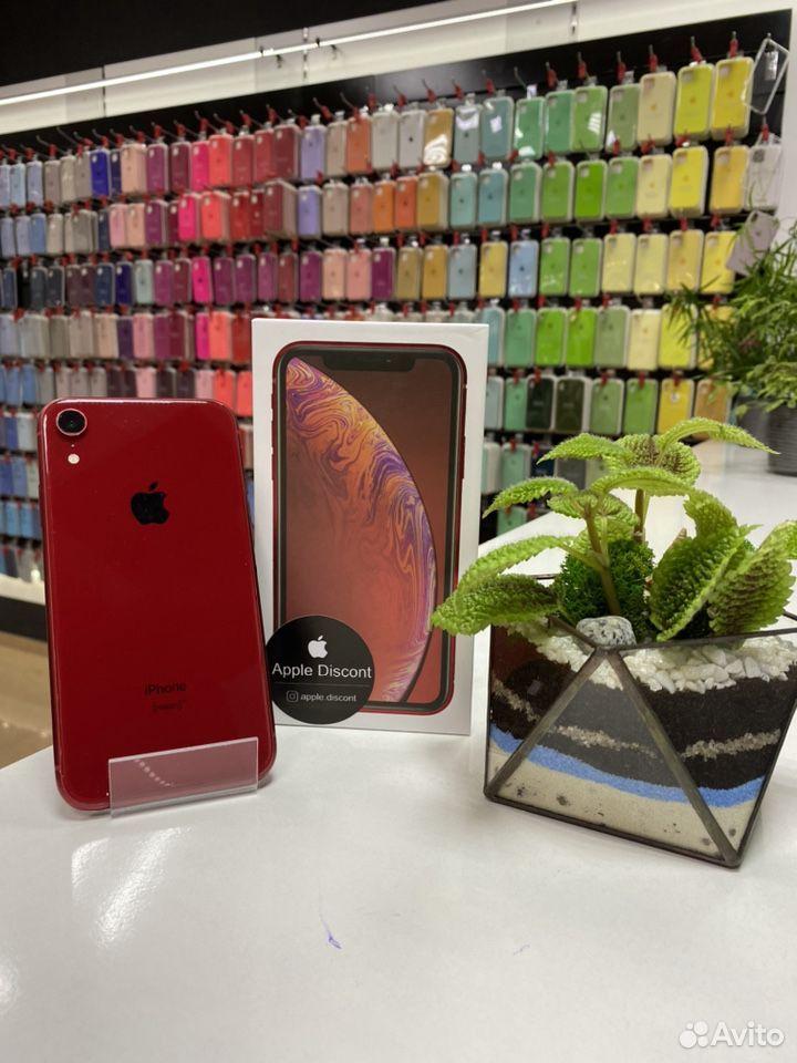 iPhone xr 64GB красный  89024155999 купить 1