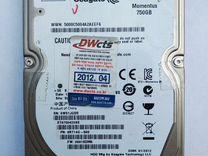 "HDD SATA 2.5"" Seagate 750Gb — Товары для компьютера в Краснодаре"