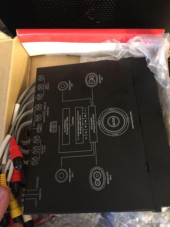Декодер многоканального звука Prology adsp-2351 89134427708 купить 4