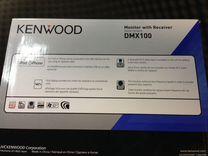 Автомагнитола Kenwood DMX 100 2Din USB AUX iPhone