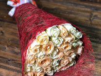Букет из 31 розы 60см.Доставка цветов в Ставрополе