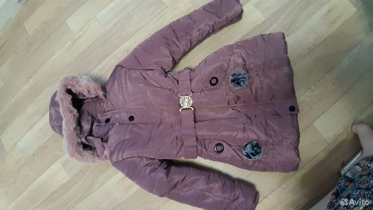 Куртка на девочку 7-8 лет  89234950599 купить 1