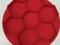 Силиконовая форма на 7 ячеек для приготовления