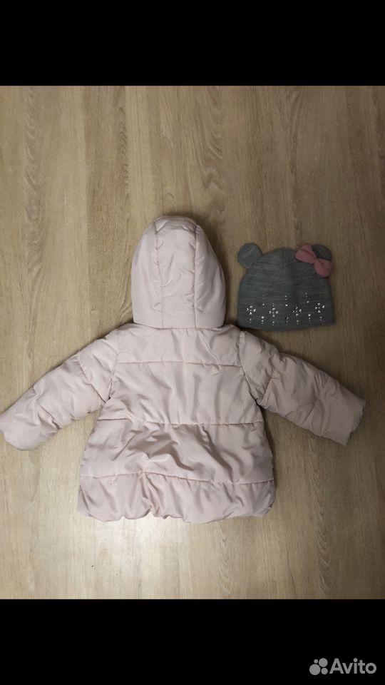 Куртка zara 92размер + шапка  89176798211 купить 2