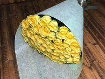 Букет из 33 роз 60см. Доставка цветов в Ставрополе