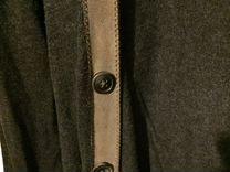 Темно-серый жилет / кардиган Massimo Dutti