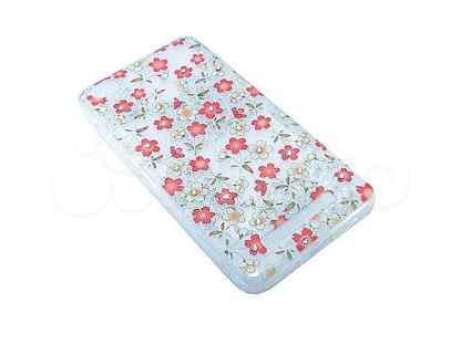Чехол-накладка для xiaomi Redmi 4A fashion TPU стразы Полевые цветы вид 1