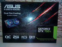 Видеокарта asus GTX 750Ti
