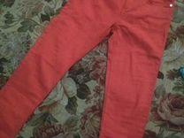 Ярко-красные укороченные джинсы, Mango