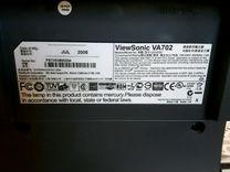ЖК-монитор для компьютера Viewsonic va702