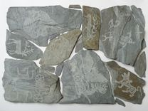 Сланец, отделочный камень с орнаментом