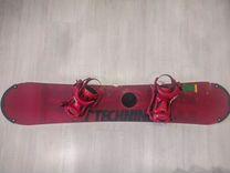 Сноуборд Technine TMoney 150см с креплениями