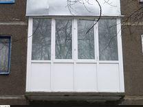 Французский балкон однокамерный Faust 58 мм