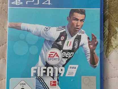 Игра для приставки fifa 19 PS4