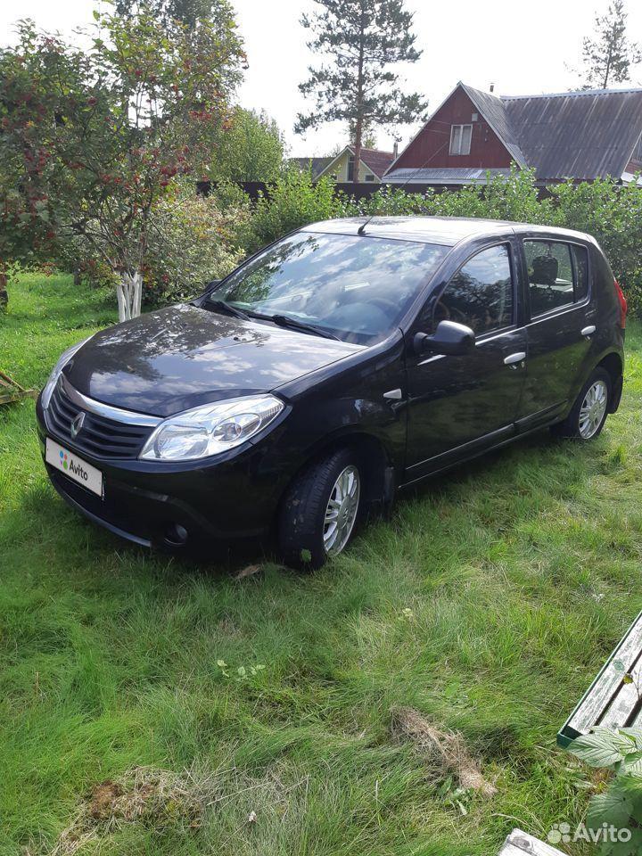 Renault Sandero, 2013  89586007335 купить 1