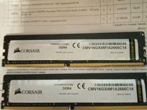 Оперативная память Corsair DDR4 32 Gb(2x16Gb)