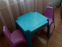 Породам детский столик + 2 стульчика