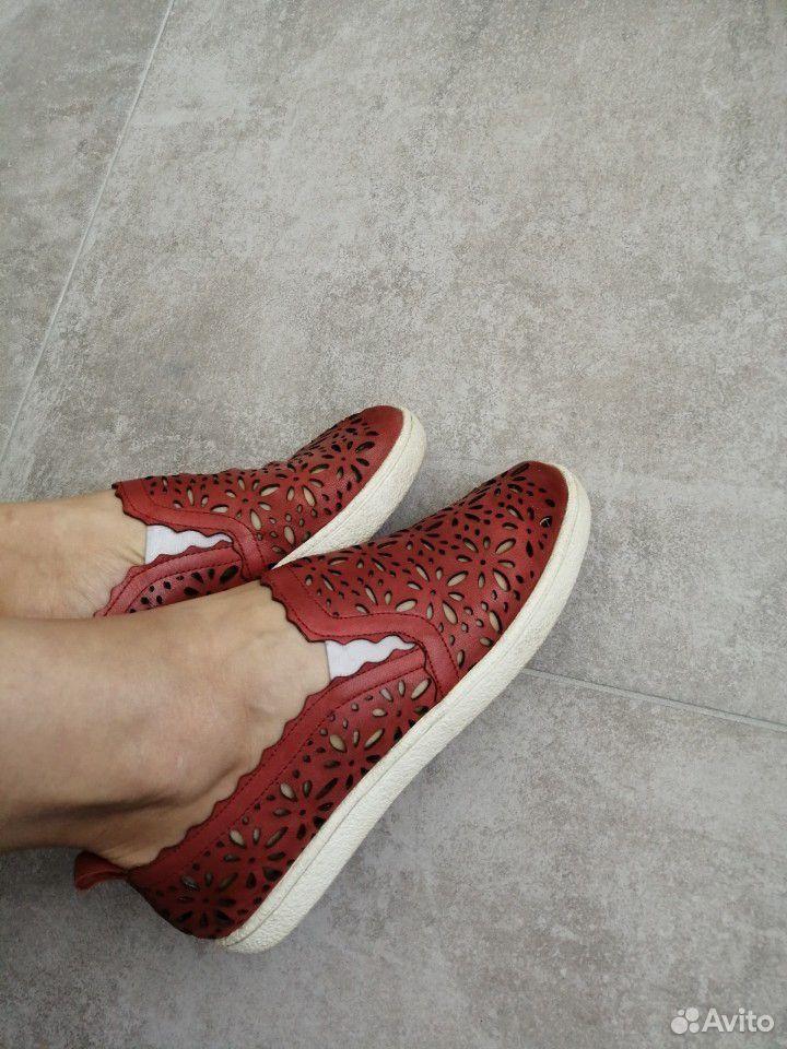 Слипоны, ботинки(кожа) 40 размер  89521154811 купить 3