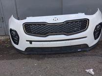 Бампер передняя Kia Sportage 4 г16