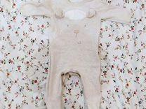 Комбинезон Mothercare трикотажный 1-3 месяца